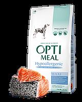 Optimeal Hypoallergenic Maxi 12кг- корм собак крупных пород с лососем