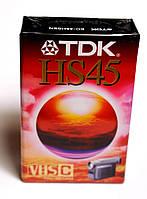 Видеокассета  TDK HS45 для видеокамер стандарта VHS C