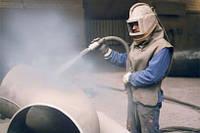 Подготовка поверхности стальных труб для антикоррозионой изояции