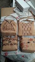 Сумки и,рюкзаки и кошельки из пробки (коры пробкового дуба) из Португалии