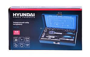 Универсальный набор инструментов HYUNDAI K 20, фото 2