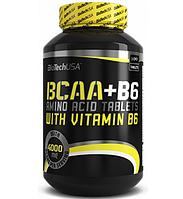 BioTech USA   BCAA+B6    100 tabs.