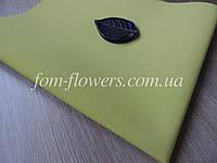 Фоамиран Иранский Оливковый, 60х35 см