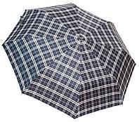 Модный зонт автомат 3117 English cell black TN