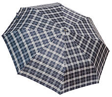 Модный зонт автомат 3117 English cell black