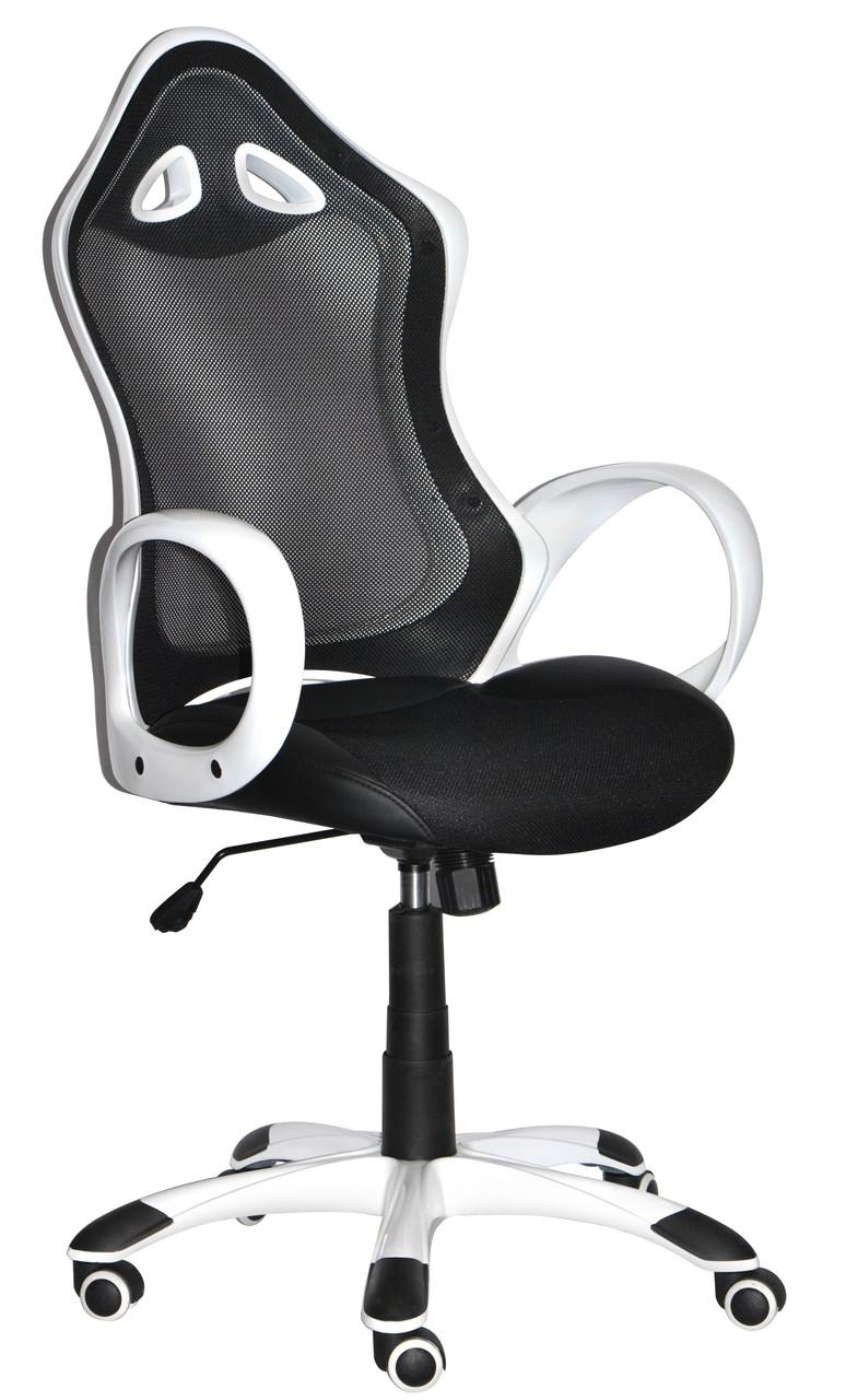 Кресло офисное Матрикс-2 Anyfix (белое, чёрное) (с доставкой)