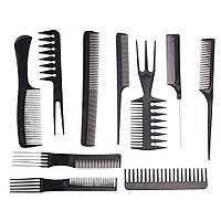 Набор расчесок для парикмахера 10 шт