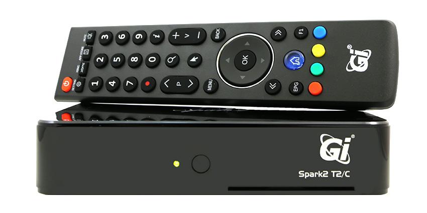 Цифровой эфирный ресивер GI Spark 2 T2/C Android