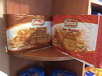 Хлебцы Certossa, пшеничные, integrali. 600г, Италия