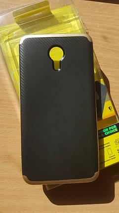 Чехол-бампер IPaky на Meizu M3 Note  Золотой, фото 2