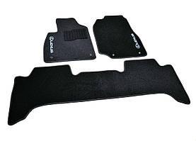 Коврики в салон Lexus LX470 (1998-2007) /Чёрные, кт. 3шт