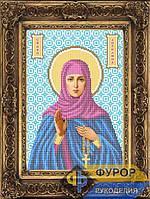 Схема для вышивки бисером - Ангелина Святая Преподобная, Арт. ИБ4-112-1