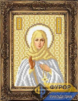 Схема для вышивки бисером иконы Ангелина Святая Преподобная (ИБ5-002-2)