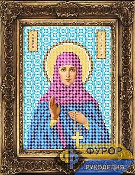 Схема для вышивки бисером иконы Ангелина Святая Преподобная (ИБ5-002-1)