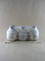 Купить набор для специй из керамики Соль Перец Специи в Украине с доставкой
