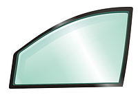 Стекло боковое правое, переднее дверное Toyota Corolla E80 Тойота Королла Е80