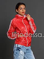Ветровка спортивная красная, фото 1
