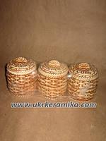 Купить набор для специй из керамики корзинки Соль Перец Специи в Украине с доставкой