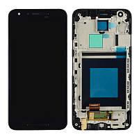 Дисплей + сенсор модуль c рамкой для LG Google Nexus 5x H790 H791