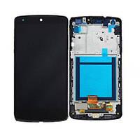 Дисплей + сенсор модуль c рамкой для LG Google Nexus 5 D820 D821