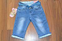 Джинсовые бриджи для девочек, фото 1