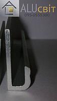 Рамочный  алюминиевый профиль 20х7,5х1,5 анод серебро