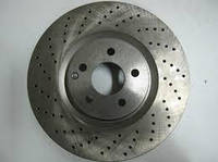 Тормозной диск (Диск тормозной передний Mercedes E C207 / CL C216 / S W221 6.0) (Передний мост)
