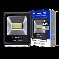 Прожектор LED GLOBAL FLOOD LIGHT 50W 5000K ХОЛОДНЫЙ СВЕТ(1-LFL-004)