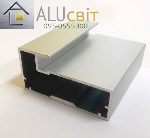 Рамочный фасадный алюминиевый профиль Р 31, фото 2