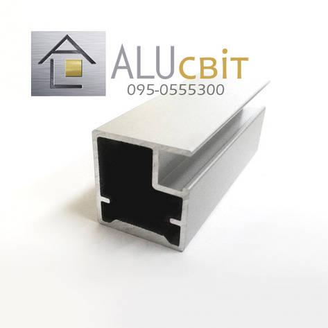 Рамочный фасадный алюминиевый профиль Р 32, фото 2