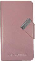 Чeхол-книжкa  унивeрсaльный Jilis розовый 8.3см*15.3см*1.0см, фото 1