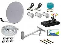 Спутниковые и DVB-T2 ресиверы,аксессуары