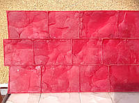 """Штампы """"Брусчатка"""" полиуретановые для бетона, топбетон, печатный бетон"""