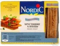 Хлебцы пшеничные из злаков, Nordic, 100г