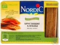 Хлебцы органические хрустящие, Nordic, 100г