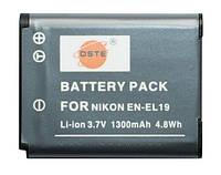 Аккумулятор для фотоаппарата Nikon EN-EL19, 1300 mAh.