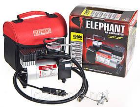 Автомобильный компрессор ELEPHANT КА-12400 100psi/12Amp/30л/прикур.