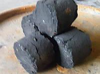 Угольный   брикет 30х40 мм, антрацит