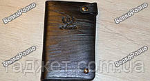 Обложка для водительских документов , визитница, черного цвета., фото 3