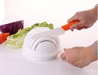 Овощерезка для салатов 3 в 1. Salad Cutter Bowl, Слайсер - миска с подставкой
