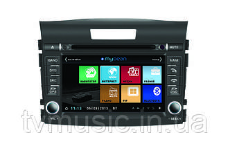 Штатная автомагнитола MyDean 1111 nv  (Honda CR-V)