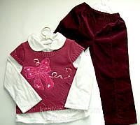 Костюм для девочки, 3-ка, Брюки, кофта, жилетка для девочки производитель Польша, Карен, размер 104