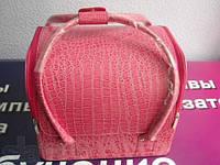 Кейс для мастера розовый, фото 1