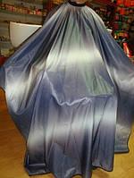 Пеньюар 140/150см сине-белый