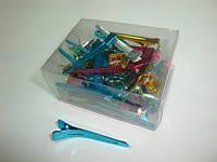 Зажим для волос DenIC - цветной набор 50 штук