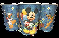 Стакан детский праздничный одноразовый Микки Маус (упаковка 10шт.)