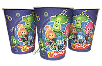 Стакан детский праздничный одноразовый Фиксики (упаковка 10шт.)