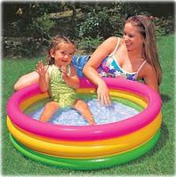 Бассейн детский надувной Красочный Intex 58924 (86х25 см.)