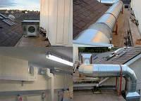 Монтажные и пусконаладочные работы по Вентиляции отоплению кондиционированию Одесса Одессе