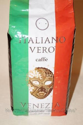 Кофе в зернах Italiano Vero Venezia 1кг, фото 2